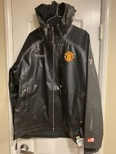 $420 Columbia Manchester United Outdry Ex Diamond Shell Men's LARGE Jacket NWT