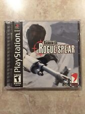 Tom Clancy's Rainbow Six Rogue Spear ( Sony Playstation 1 ) PS1 , Complete