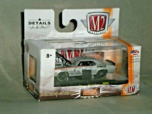 1/64th M2 Auto Mods R5 1969 Chevrolet Camaro SS/RS 396 Silver