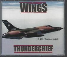 """Wings: Thunderchief"""" (The F-105 Thunderchief, Wild Weasels, Super Sabres Vietnam"""
