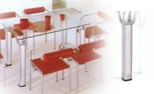 1 piece Square Tube Aluminium Furniture Dinning Meeting Table Desk Legs
