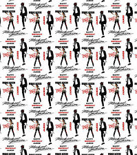 Personalised Gift Wrapping Paper Michael Jackson Birthday  Any Name!  MJ1