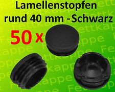 WS 0,8 bis 2,5 mm Rundrohrstopfen 25 Lamellenstopfen Weiss Ø aussen 20 mm