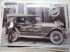 1919 STUDEBAKER  TOURING  MILEAGE RUN 156.000  MILES  11 X 17  PHOTO   PICTURE