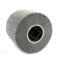 1Pc Non-woven Abrasive Flap Wire Drawing Polishing Burnishing Wheel 60-600 Grit