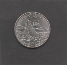Moneta Stati Uniti United States Quarter Dollar 25 Cent 2001 P Island STU226