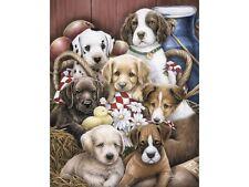 Puppies Outdoor Garden Flag