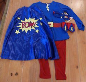 New Pottery Barn Kids AMAZING BOY Superhero Costume Boys Kids Size 7-8