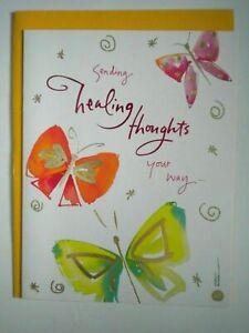 American Greetings ~ GET WELL GREETING CARD + ENVELOPE ~ Kathy Davis