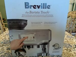 Breville Barista Touch Espresso Maker: BES880BSS1BUS1:  Gift Receipt Included: