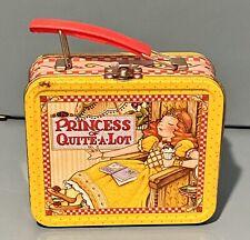 1999 Mary Engelbreit Princess of Quite-A-Lot Mini Lunch Box Tin