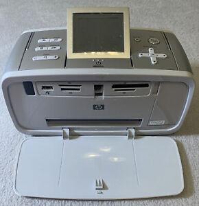 HP Photosmart 475 Digital Photo Portable Inkjet Printer