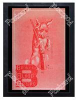 Historic Burdock Blood Bitters ca 1870 Advertising Postcard
