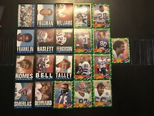 1985 & 1986 Topps BUFFALO BILLS Complete Set Lot B.SMITH RC-REED RC Look !