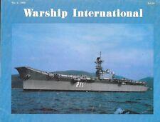 Warship International V26 N2 1989 USS New Ironsides World War II USS Stewart