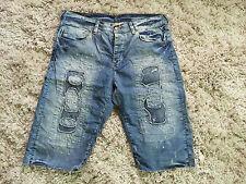 H&M Fashion Against Aids Jeans, Limitiert, Short, Vintage, Gr.36, 1x getragen