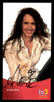 Ariane Wick HR Autogrammkarte Original Signiert ## BC 39219