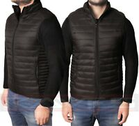 Mens Padded Bubble Puffer Quilted Hooded Jacket Coat Warm Winter Fashion LPG