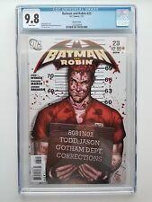 Batman and Robin #23 (2011) Jason Todd Mugshot Variant, JG Jones, CGC 9.8 NM/MT