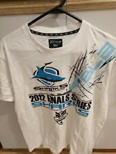 Cronulla Sutherland Sharks NRL 2012 Finals Series Large t-shirt Football Jersey