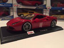 Ferrari 488 GTB - Red -  Die Cast Maisto Special Edition 1:18 scale
