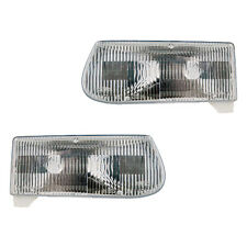 Fits 1995-2001 Ford Explorer 1997 Mercury Mountaineer Headlight Assembly 1 Pair