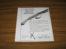 1950 Vintage Ad Ithaca Featherlight Shotgun Repeaters for Left & Right Handers