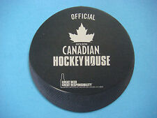 Beer Bar 2011 Coaster ~*~ Official MOLSON Canadian Hockey House ~ CANADA Brewery