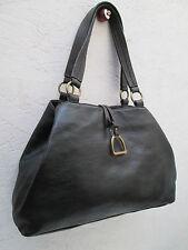 -AUTHENTIQUE sac à main type cabas RALPH  LAUREN  cuir   TBEG vintage bag A4