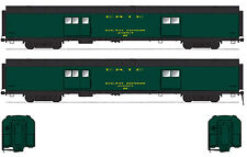 ERIE MODERN BAGGAGE EXPRESS CAR HO Model Railroad Unpainted Kit BC831