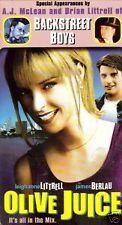 """OLIVE JUICE"" VHS (2001) Featuring BACKSTREET BOYS"
