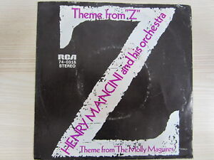 """Single / Henry Mancini And His Orchestra ?– Theme From """"Z"""" / 1970 / RAR /"""