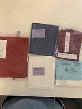 Cross Stitch Lugana Fabric Lot