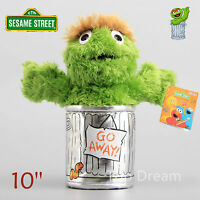OFFICIAL Sesame Street Oscar Plush Toy Soft Stuffed Doll 10'' Teddy Xmas Gift