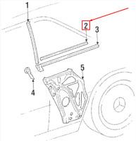 Se adapta a Mercedes 190 W201 e 2.6 Genuine OE Textar Discos De Freno Trasero sólido conjunto revestido