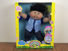 "Cabbage Patch Kids 14"" Boy Plush Doll African American Black Hair Baseball *NEW*"