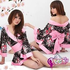 Sexy Lingerie Sleepwear Underwear Women's Cosplay Japanese kimono Photo Clothes