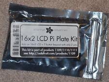 Adafruit i2c 16x2 RGB LCD Pi Plate kit