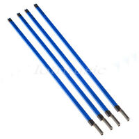 4Pcs Electric Guitar Bass Two Way Steel Double Style Truss Rod Rods 9*460mm Blue
