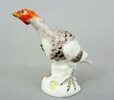 Meissen Vogel Modell-Nr. C2, Truthahn Pute / Henne Figur, Höhe 9 cm, 1.Wahl