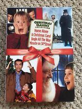 Christmas Classics - Box Set (DVD, 2006, 4-Disc Set) Home Alone /Christmas Carol