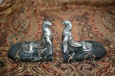 Superbe paire de serre livres 1920 signée Frecourt