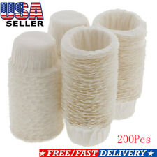 200pcs Paper Coffee Filters Cups Replacement K-Cup Filters For Keurig K-Cup Pods