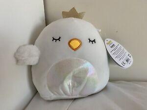 "Squishmallows Alyssa Swan 7"" BNWT"