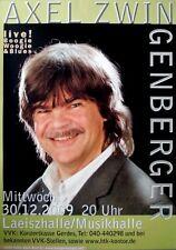 ZWINGENBERGER, AXEL - 2004 - Konzertplakat - In Concert - Tourposter - Hamburg