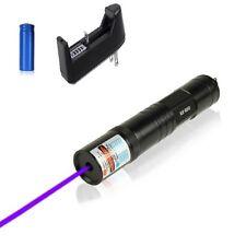 Rare Ultra Puissant Pointeur laser  violet 1mw 532nm + batterie + chargeur
