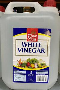 White Vinegar 5Ltr  (Distilled)