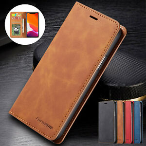 Case For iPhone 11 12 13 Pro XS Max XR 7 8 Plus Flip Leather Wallet Phone Cover