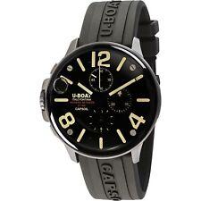 U-Boat 8111-A Capsoil 45 SS Chrono Wristwatch