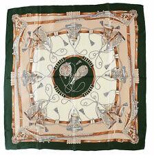 Hochwertiges SEIDENTUCH in elegantem Design,Tuch Seide, 85x85 cm, Handrolliert